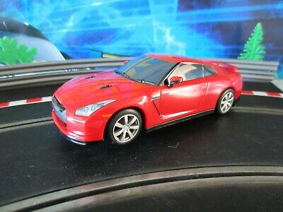 Scalextric C Nissan GTR Drift Car Red Excellent