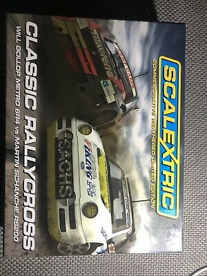 Scalextric CA Rallycross Ford RS200 Metro 6R4 Slot Car