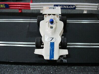 Scalextric Car F1 Grand Prix white UOP Shadow C s