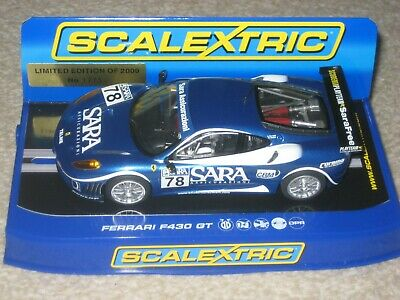 Scalextric Car - Ferrari F430 GT Limited Edition only