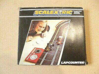 Scalextric Classic Lap Counter & Computer C277 & C276