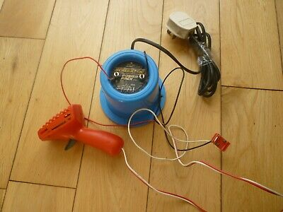 Scalextric Power Pack C919 Transformer Blue Round 12V with