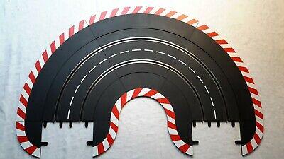 carrera R1 Rails 9 Virage  avec Bordure extérieure