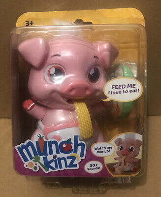 Munchkinz Pickles The Pig Interactive Toy Brand New
