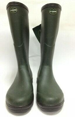 Le Chameau Anjou Evo Neoprene Lined Wellington Boots Size 39
