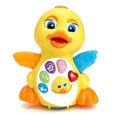 Play Pride® Duck Toy - Best Musical Baby Toys for 1 Year