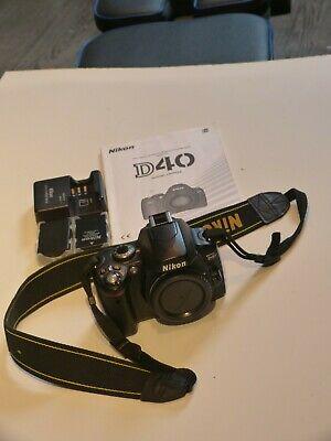 Nikon D DMP Digital SLR Camera - Body Only - Black -