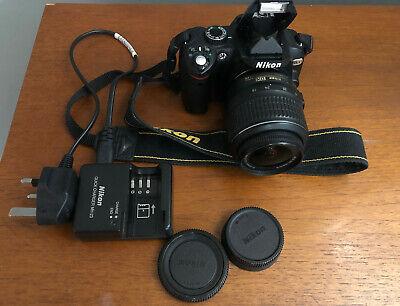 Nikon D MP Digital SLR Camera & mm VR