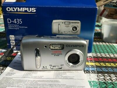 Olympus CAMEDIA D-MP Digital Camera - Silver used but