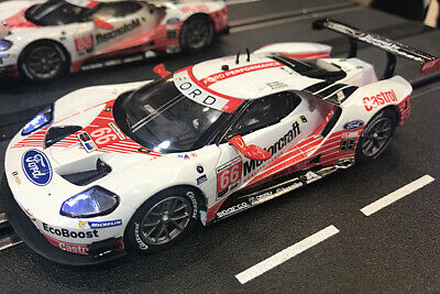 Carrera Evolution Ford GT Race Car - No.66 - New &