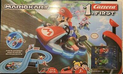Carrera Mario kart first racing blue track