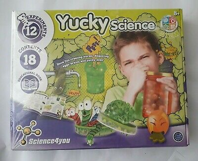 SCIENCE 4 YOU STEM YUCKY EDUCATIONAL SCIENCE KIT FOR 8 YEAR