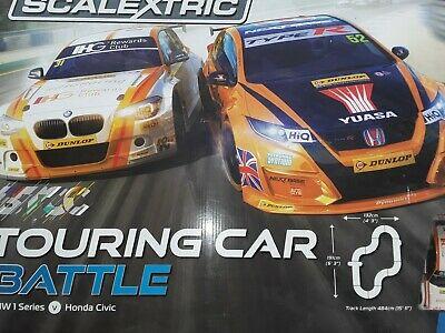 Scalextric C BTCC Touring Car Battle Racing Playset +