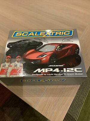 Scalextric CA McLaren MP4-12C 'Button/Hamilt on Limited