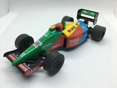 Scalextric Classic Slot Car C461 Ford Benetton B189 F1