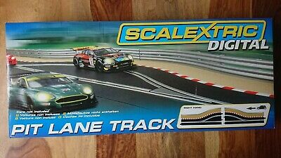 Scalextric Digital C Pit Lane Track Right Hand NEW