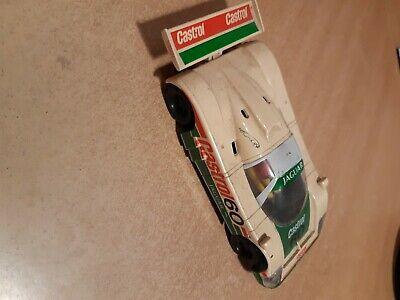 Scalextric Le Mans Jaguar Castrol 1.32 C382 needs repair