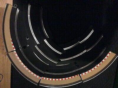 Scalextric Sport Track 8 Standard Curves/4 Run Offs
