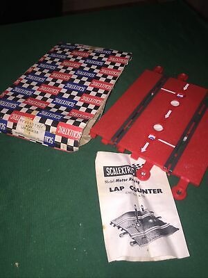 VINTAGE SCALEXTRIC A259 RED LAP COUNTER Track BOXED 's