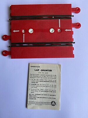 VINTAGE SCALEXTRIC A259 RED LAP COUNTER 's -with