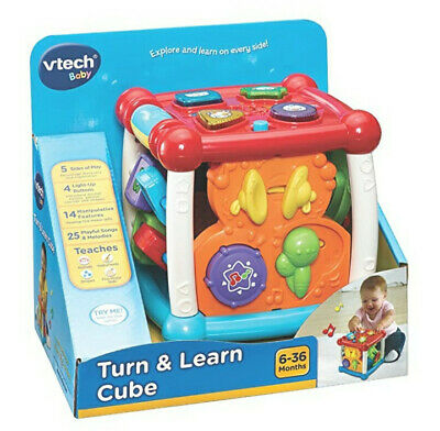 VTech Baby Turn and Learn Activity Cube