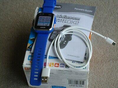 VTech Kidizoom DX2 Dual Camera Smart Watch Toy - Blue Please