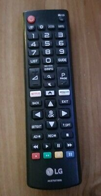 Genuine LG 50UKPLD TV Remote Control AKB