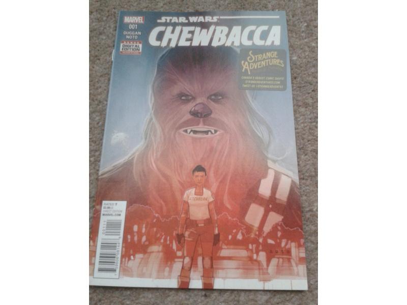 STAR WARS CHEWBACCA #001-FREE COMIC BOOK DAY