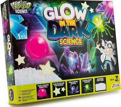 Weird Science Glow In The Dark Science Set Experiment Kit