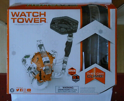 HEXBUG NANO V2 WATCH TOWER KIDS CONSTRUCTION KIT - VERY GOOD