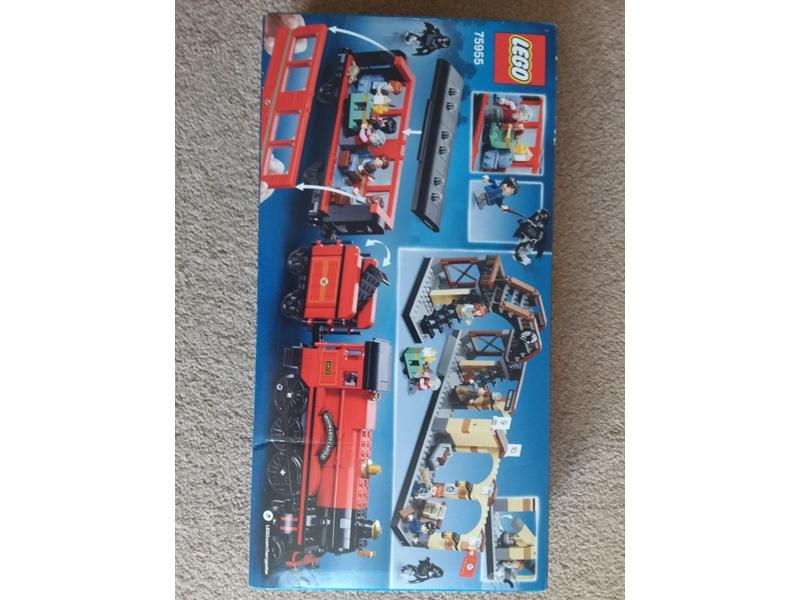 Lego Harry Potter Hogwarts express train set
