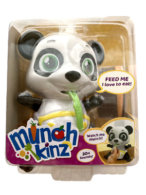 MUNCHKINZ CHEWY THE PANDA INTERACTIVE EATING PET TOY 30+