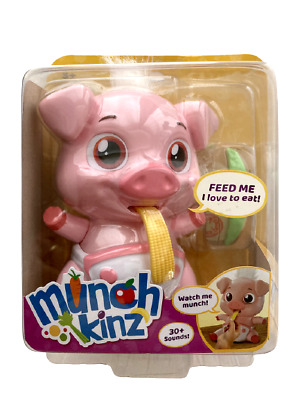 MUNCHKINZ PICKLES THE PIG INTERACTIVE EATING PET TOY 30+