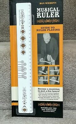 MUSICAL RULER Musical Instrument - Dan Wiedens  Revised