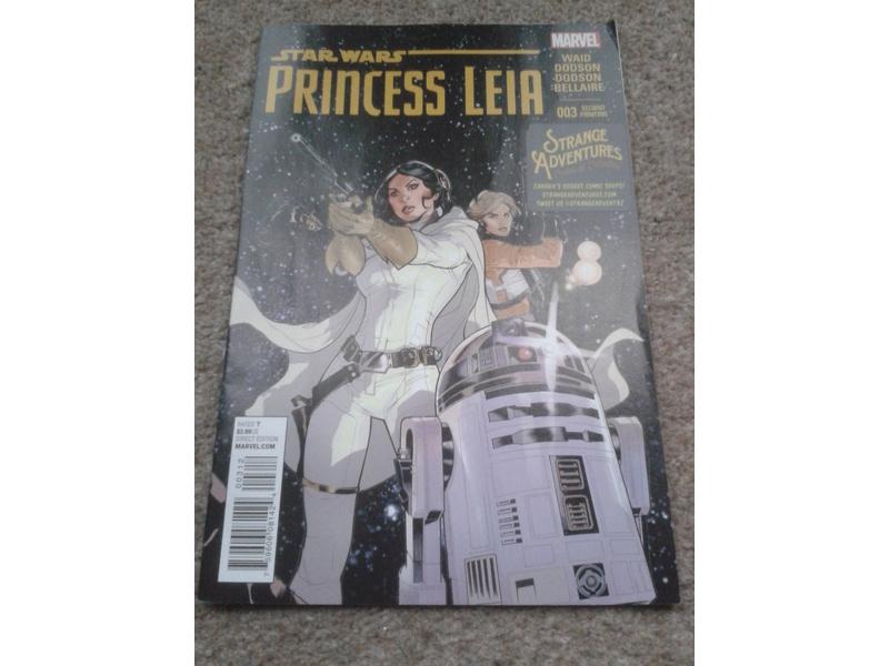 STAR WARS-PRINCESS LEIA #003-FREE COMIC BOOK DAY