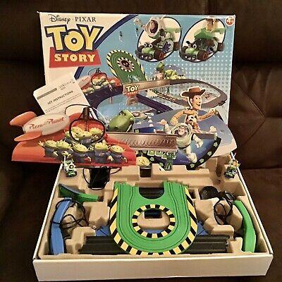 Disney Pixar Toy Story Micro Scalextric 1:64 Slot Racing Set