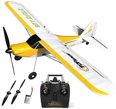 Top Race 4 Channel Rc Plane - Stunt Flying Remote Control