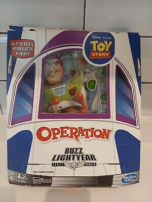 Buzz Lightyear Disney Pixar Toy Story Operation Board Game