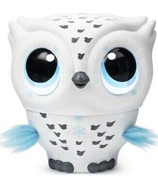 Kids Toy Owleez Flying Baby Owl Interactive Toy - White -