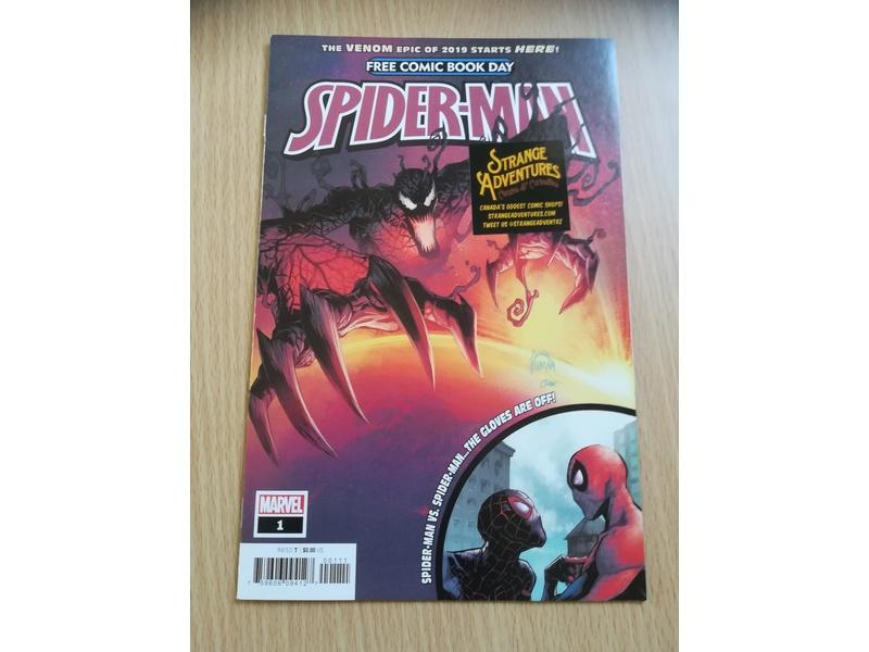 THE ULTIMATE SPIDERMAN WEB-WARRIORS-COMIC-FREE COMIC BOOK