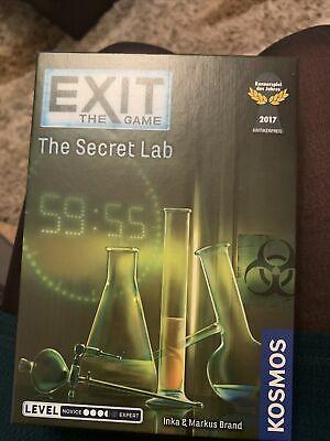 Thames & Kosmos Exit: The Secret Lab Board Game
