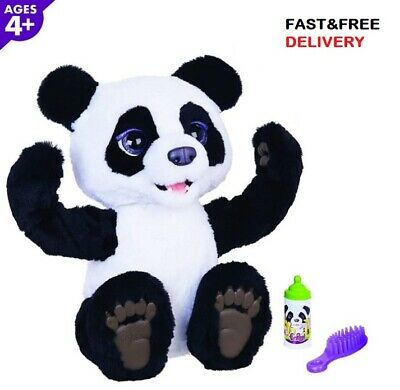 The Curios Panda Bear Cub Interactive Toy For Kids Plum Ages