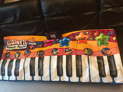 GIGANTIC MUSICAL KIDS PIANO KEYBOARD MUSIC MAT DANCE PARTY