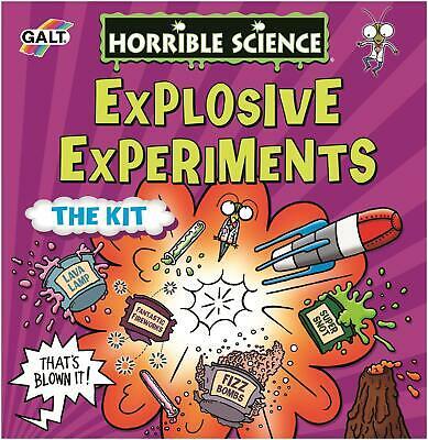 Galt HORRIBLE SCIENCE EXPLOSIVE EXPERIMENTS Kids Educational