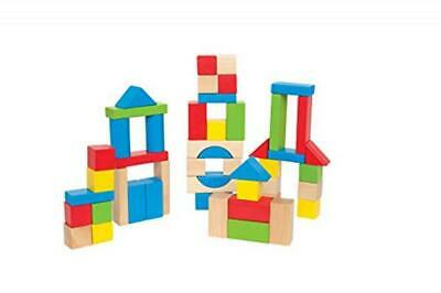 Hape E Wooden Building Block Set - Maple