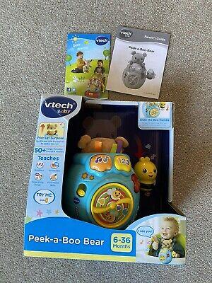 Vtech Peek a Boo Bear - V Good Condition
