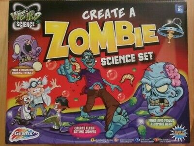 Weird Mad Science Make & Create A Zombie DIY Experiment Kids