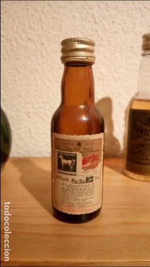 Botellin antiguo whisky