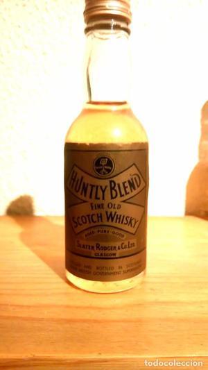 Botellin whisky antiguo
