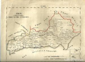 CARTOGRAFIA-MAPA DEL REINO DE GRANADA-PROV: GRANADA NEBST